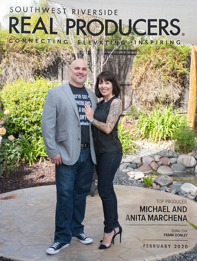 Realtors Michael & Anita Marchena Real Producers Magazine